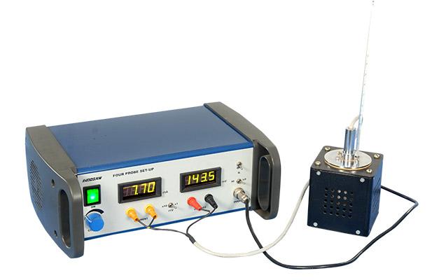 Electrical Conductivity Measurement : Four probe resistivity measurement