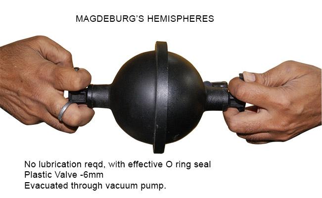 Electric Vacuum Pump >> Bell Experiment